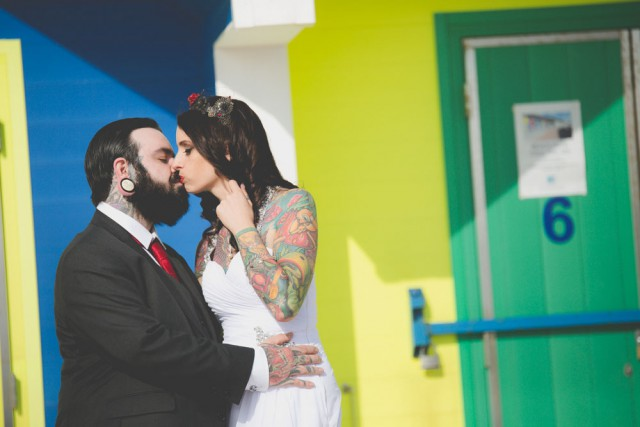 traditional wedding with a rocknroll twist (36)