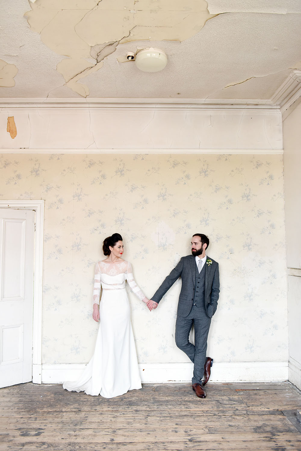 Wedding in a Disused Victorian Swimming Pool · Rock n Roll Bride
