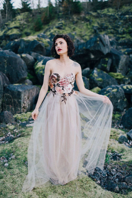 Inspired by Portland: Lady Evelyn Wedding Dresses · Rock n Roll Bride
