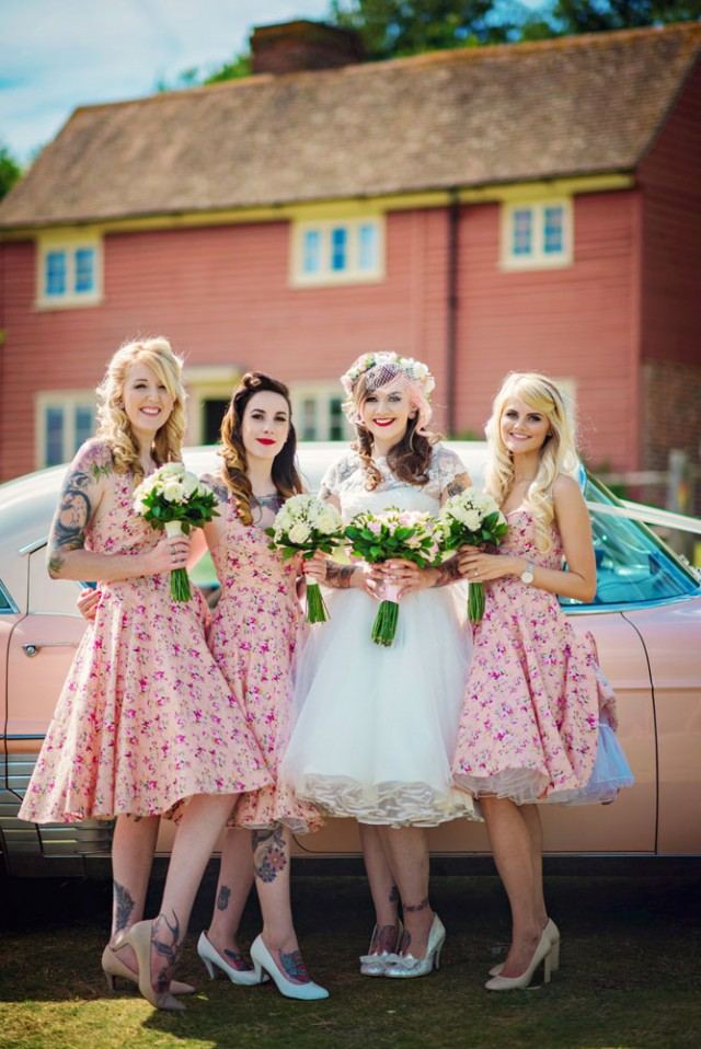 Pretty in Pink Tattooed Wedding - Photography by Vicki (31)