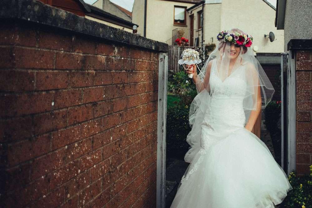 Wedding Dresses Fife 68 Spectacular pink haired bride uk