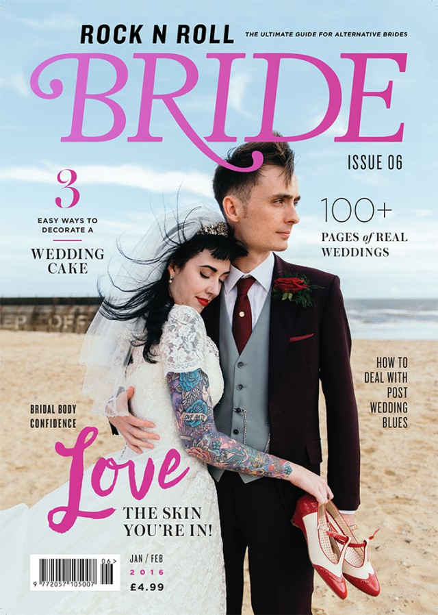 rocknrollbride magazine issue 6 cover