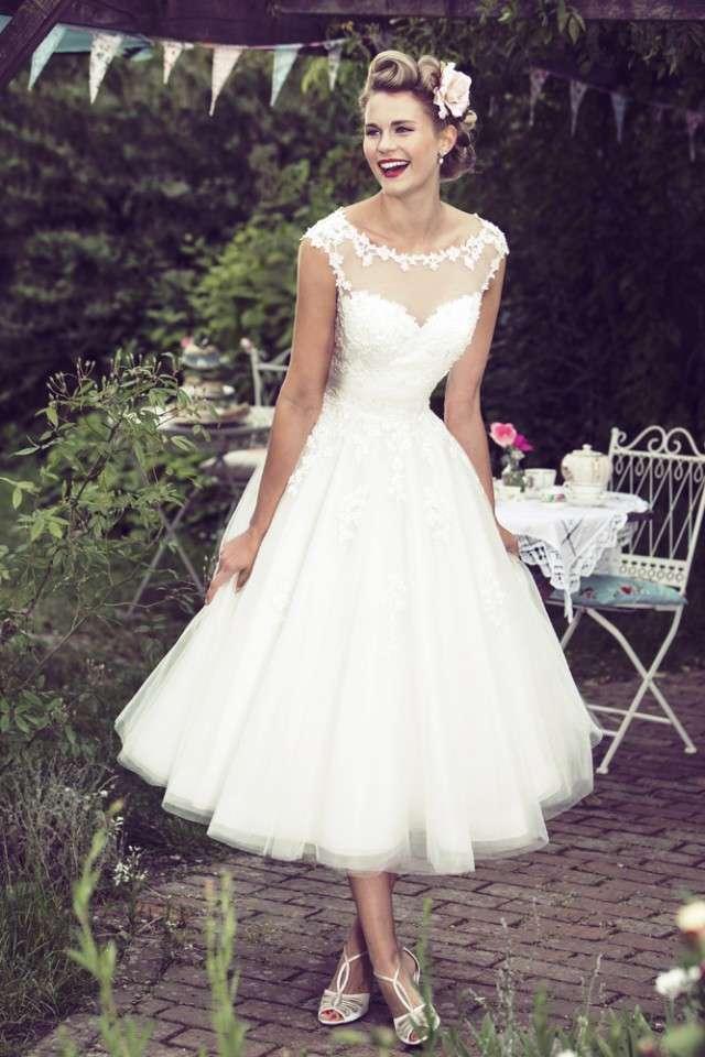 Fifties Wedding Dresses 12 Fancy BB Mae W