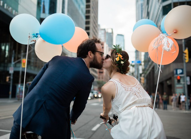 Bike parade wedding in Toronto (29)