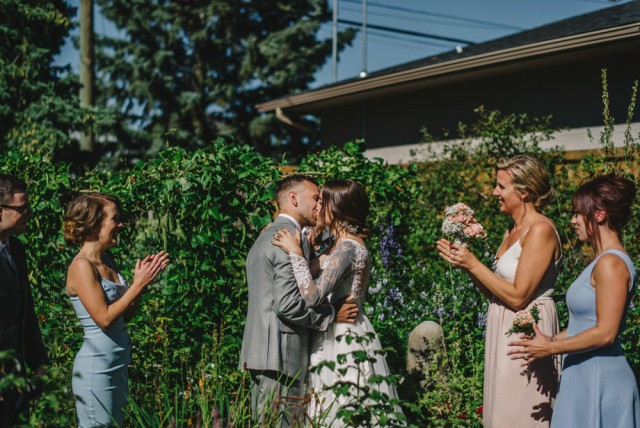 Intimate and Meaningful Wedding at Home (21)