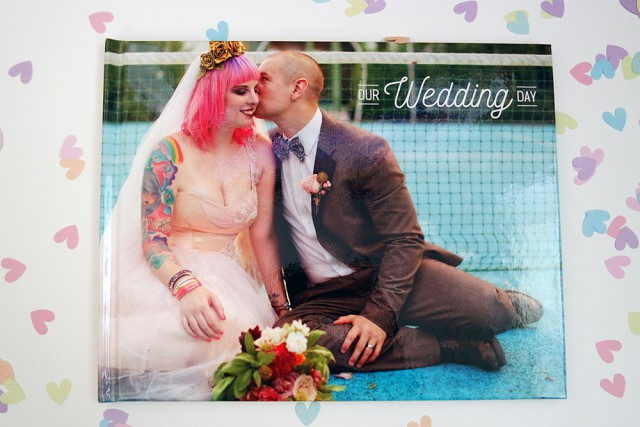 How To Design Your Own Wedding Photo Album Rock N Roll Bride