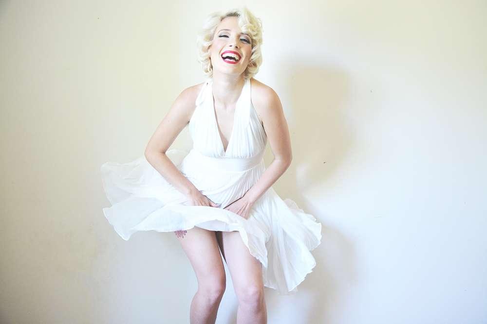 Marilyn Monroe Boudoir 183 Rock N Roll Bride