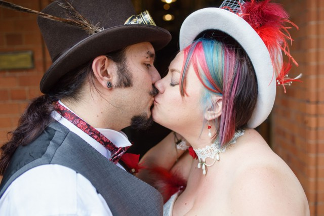 budget steampunk wedding (20)