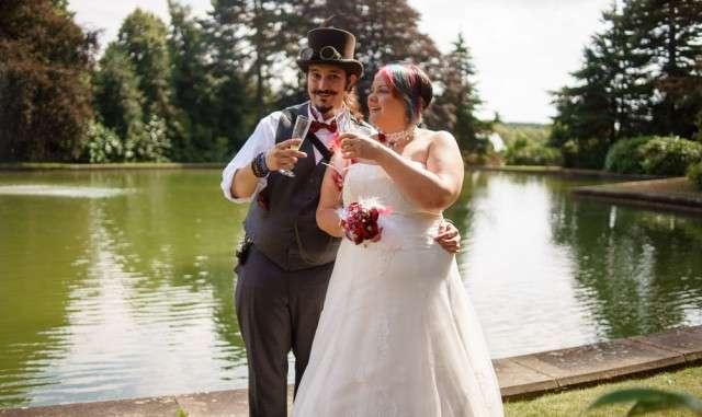 Steam Punk Wedding Dress 26 Nice budget steampunk wedding