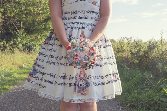Alice in wonderland themed wedding (37)