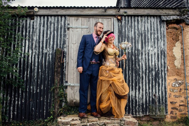 Outdoor Steampunk Wedding (47)