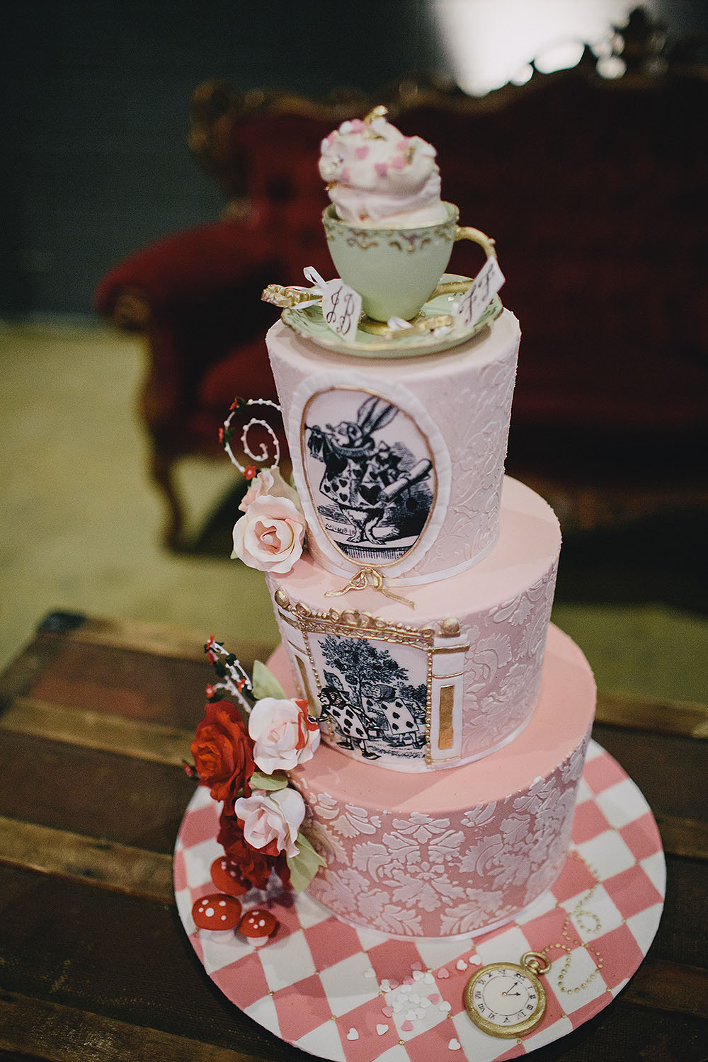 mad hatter wedding cakes designs mad hatter s tea wedding 183 rock n roll 16978