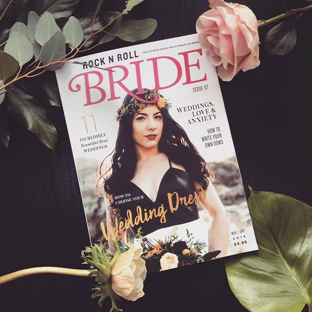 Advertise in Rock n Roll Bride Magazine for just £50! (6)