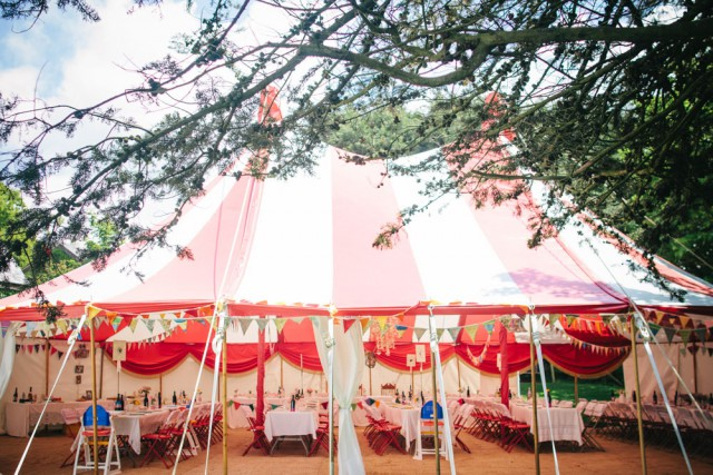 Big Top Devon Countryside Wedding (11)
