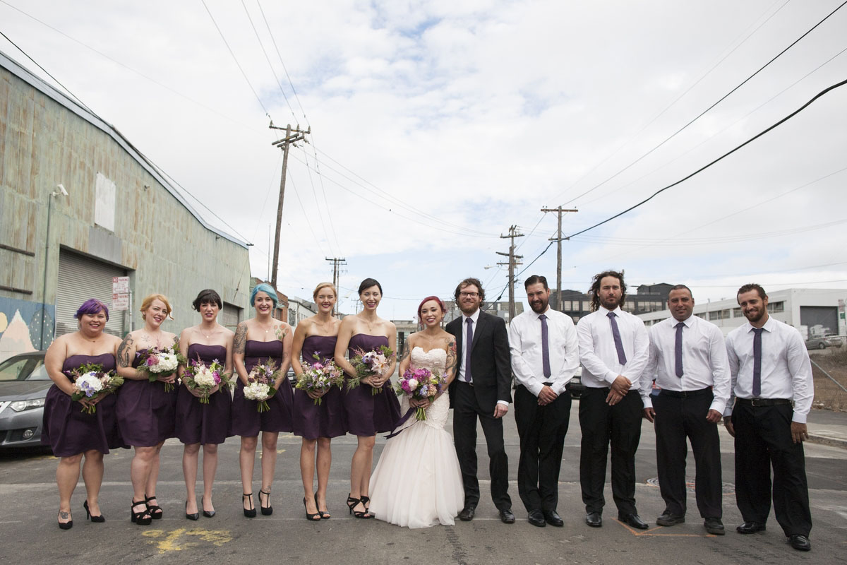 Halloween and Music Themed Wedding at a Rock Club · Rock n Roll Bride
