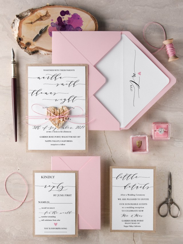 Personalised Wedding Stationery Made Easy & Win A Cake Topper From 4LOVEPolkaDots! (6)