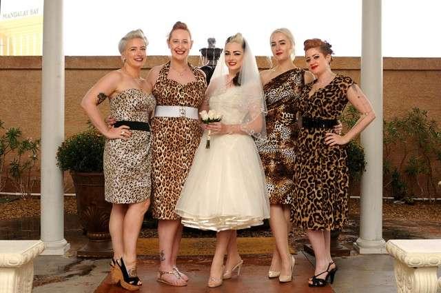 Leopard Bridal Dresses
