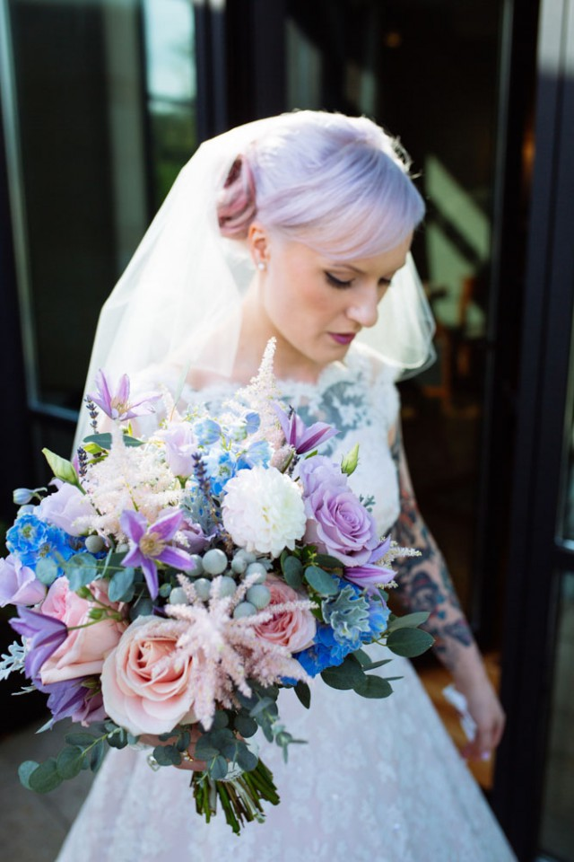 Lavender and candy wedding (6)
