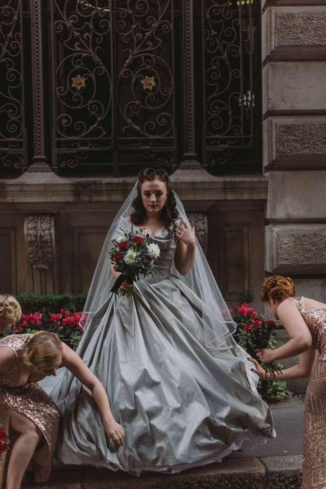 Halloween Themed Wedding Dresses 23 Beautiful LondonHalloweenWedding NishaRavji RNRB
