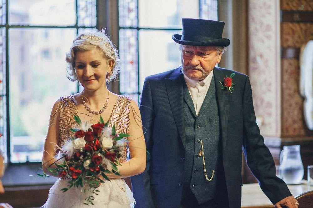 A Roaring Twenties Peaky Blinders Wedding Rock N Roll Bride