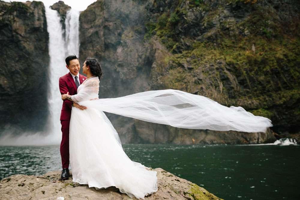 Seattle Wedding Dress Shops 27 Superb Seattle Waterfall Origami wedding