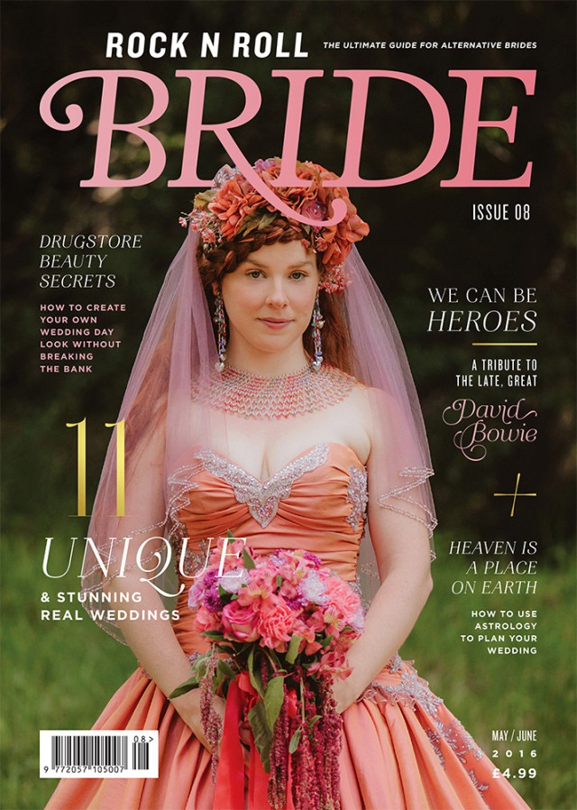 rocknrollbride magazine issue 8 cover