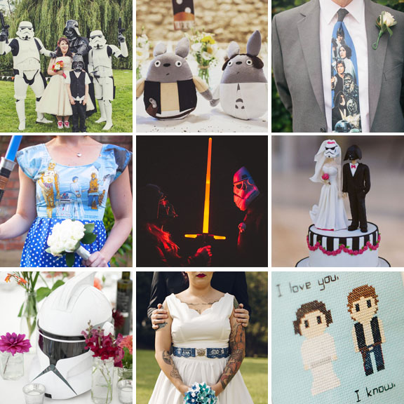 May the Forth Be With You Awesomely Geeky Ideas To Steal for Your Star Wars Wedding