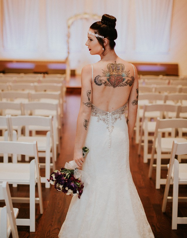 Simple Yet Elegant Purple & Grey Wedding (13)