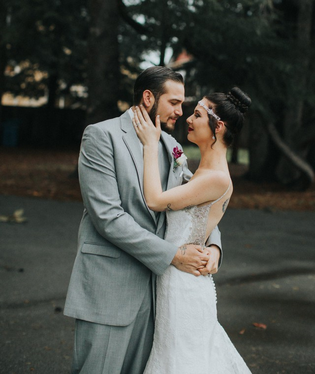 Simple Yet Elegant Purple & Grey Wedding (24)