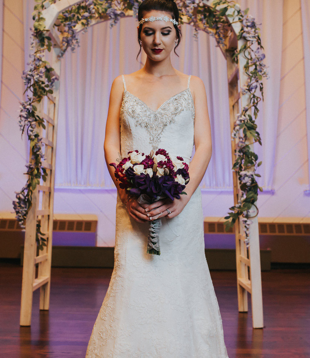 Simple Yet Elegant Purple & Grey Wedding · Rock N Roll Bride. Gum Tree Tea Length Wedding Dresses. Champagne Wedding Gowns With Sleeves. Pnina Tornai Sheath Wedding Dresses. Casual Wedding Dresses Australia. Wedding Dresses With Colored Accents. Cheap Wedding Dresses In Houston. Beach Wedding Dresses Tea Length. Wedding Dress Mermaid Body Type