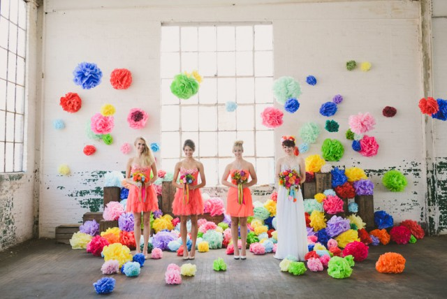 A Colourful Pom Pom Extravaganza (12)