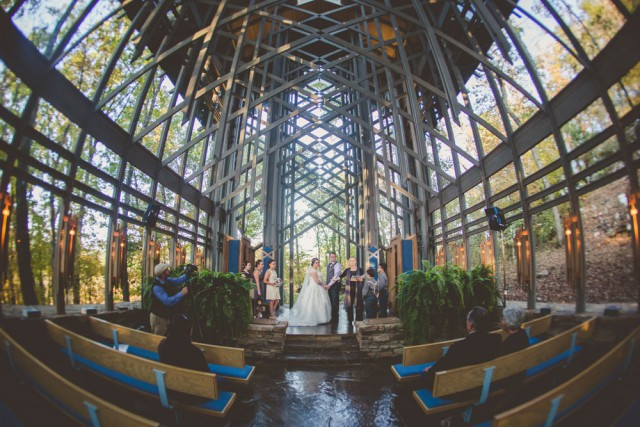 A Romantic Glass Chapel Ceremony (43)