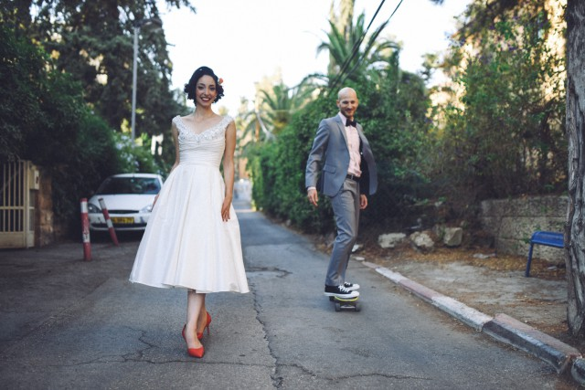 Jewish Back to the Future wedding (10)