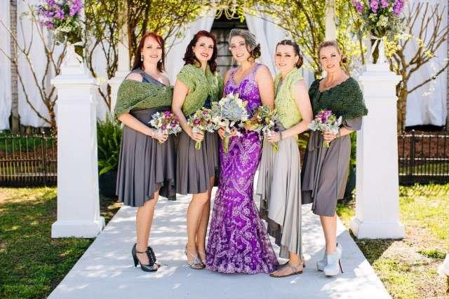Wedding Dresses In Purple 20 Cool