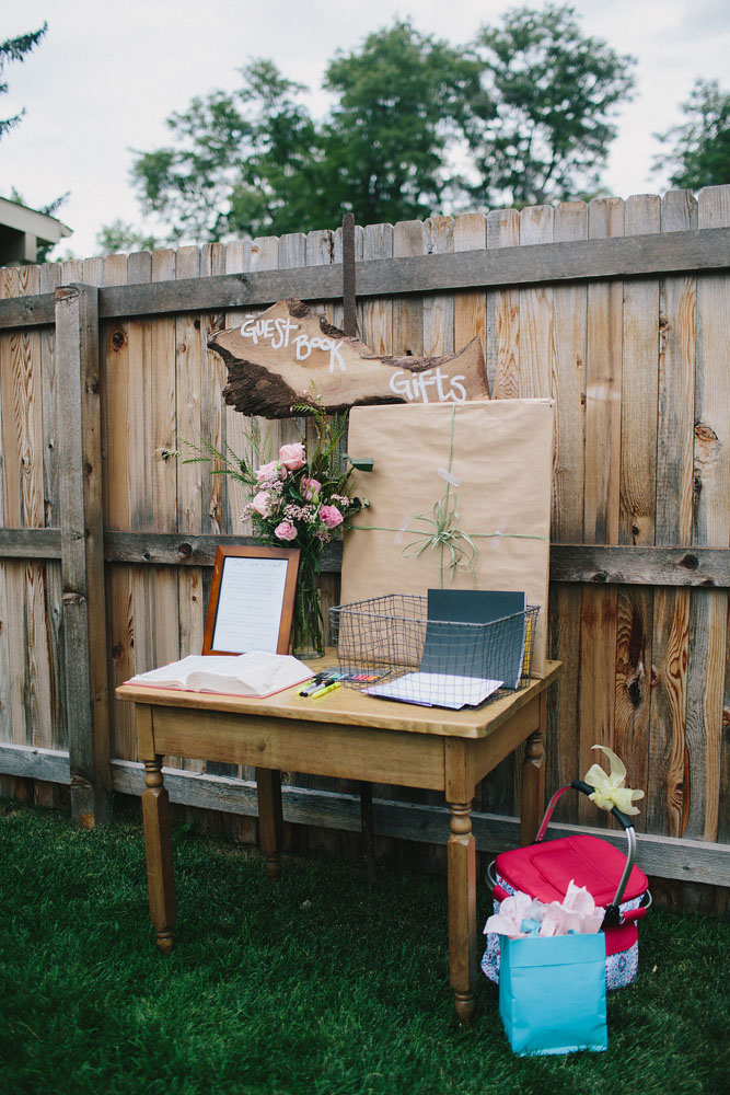 Retro Inspired Backyard Amp Amusement Park Wedding 183 Rock N