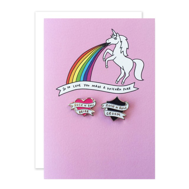 rocknrollbride x veronica dearly wedding cards with pins (2)