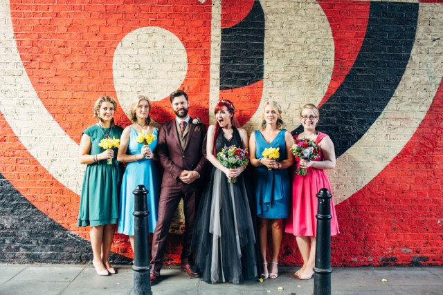 A Black Wedding Dress, Graffiti and Halloween in East London (30)