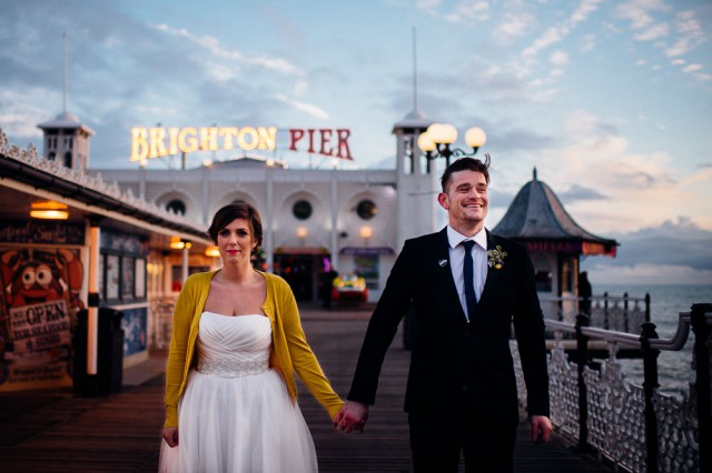 Brightly Coloured, Boozy, Big Kid Brighton Wedding (49)