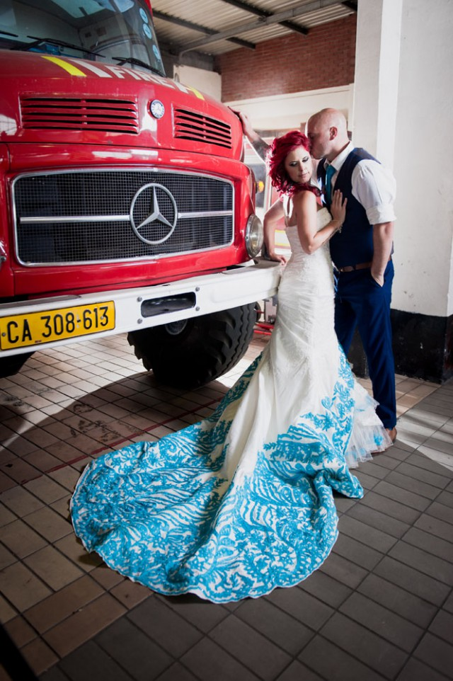 Firefighter's Wedding in South Africa (25)