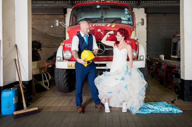 Firefighter's Wedding in South Africa (27)