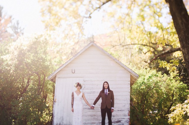 Intimate and Organic Catskill Forest Wedding (20)