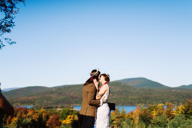 Intimate and Organic Catskill Forest Wedding (39)