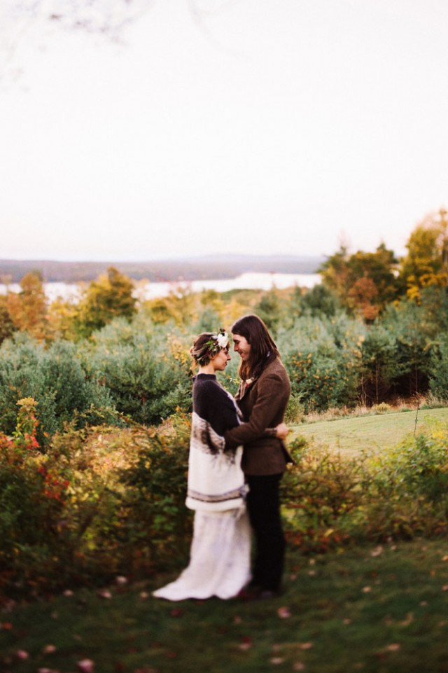 Intimate and Organic Catskill Forest Wedding (68)
