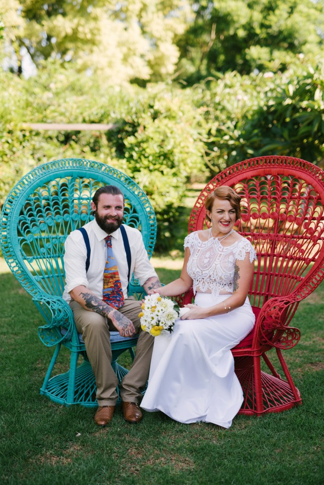 Kitschy, Vintage, Colourful & Quirky Wedding Down Under (18)