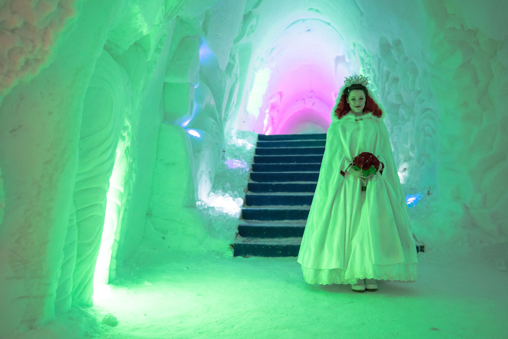 Lapland Wedding In An Ice Chapel 10