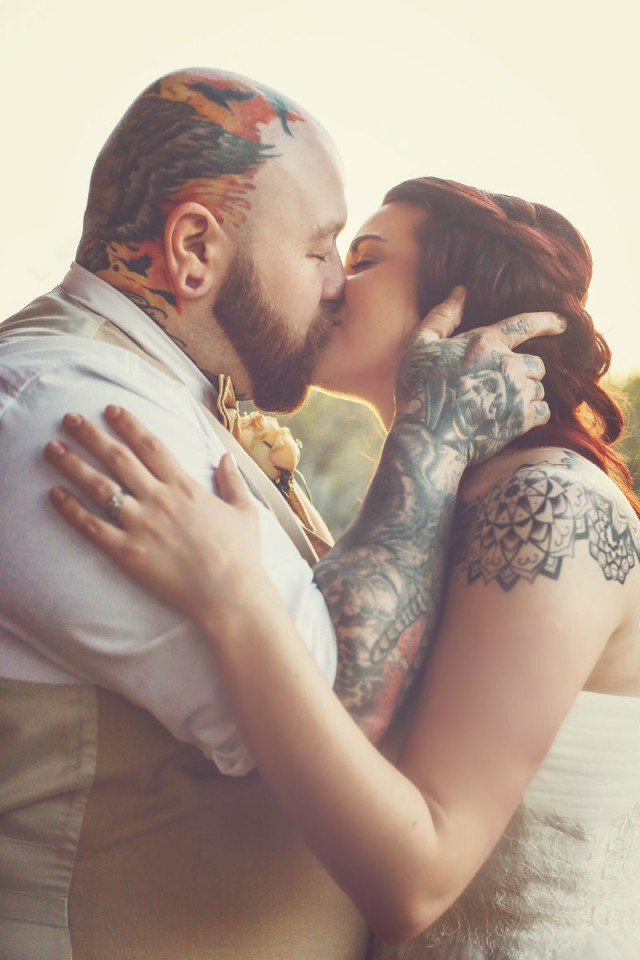 Tattooed Disney Themed Wedding (45)