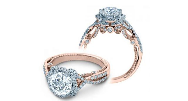 Alternative Engagement Ring Rose Gold (2)