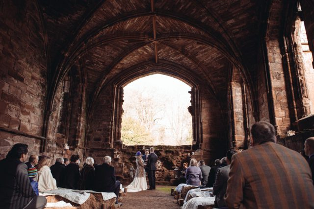 Bookish Wedding at Furness Abbey (13)