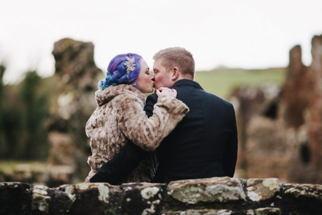 Bookish Wedding at Furness Abbey (18)