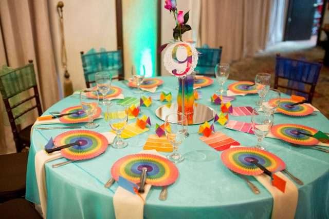 Rainbow Wedding Cakes 37 Lovely Lively rainbow wedding in